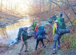 15kgはあるリュクを担いでの山道は想像以上に過酷だったが、いい思い出になった。