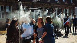 アウシュヴィッツ博物館、猛暑対策のミストシャワーに抗議殺到「まるでガス室」(画像)