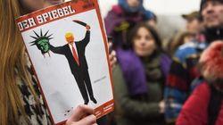 「トランプ大統領が自由の女神を斬首」ドイツ週刊誌の表紙が物議
