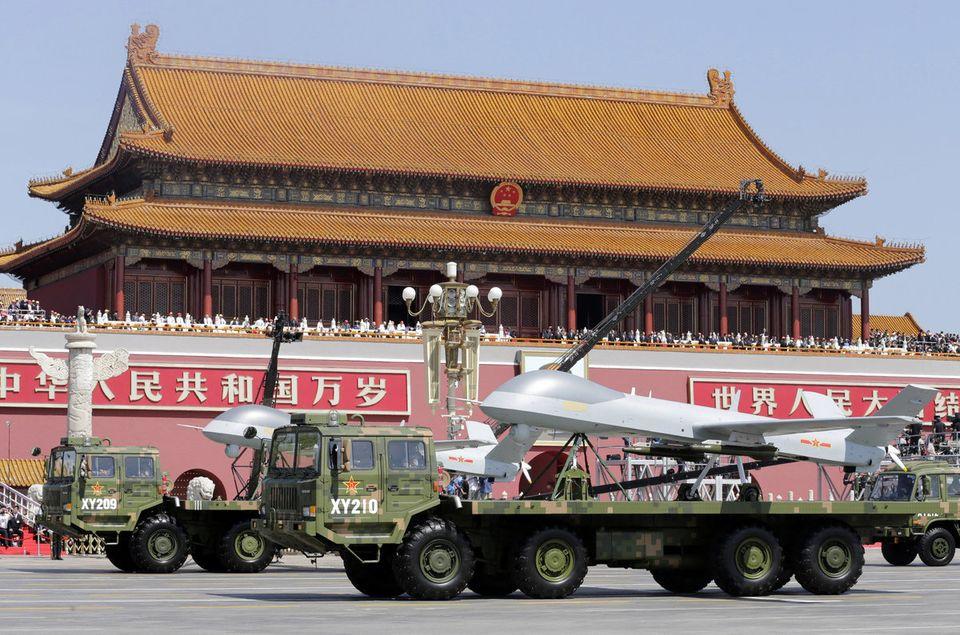 中国「抗日戦争勝利70周年」