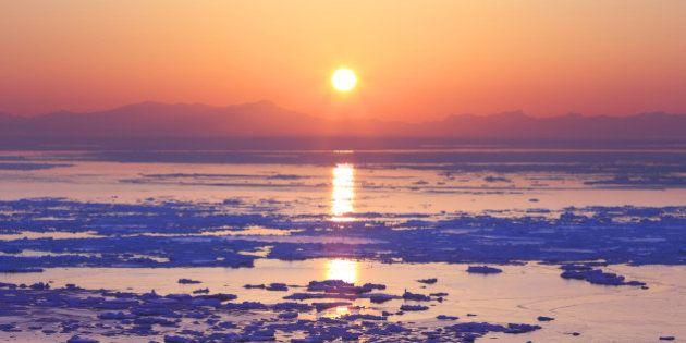 Japan, Hokkaido, View of Shiretoko Mountain. (Photo by: JTB/UIG via Getty Images) (Photo by: JTB Photo/UIG...