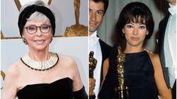アカデミー賞のプレゼンターは、56年前と同じドレスでステージに立った