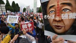 国会前デモで鉄柵崩壊、「憲法を守れ!」の人がルールを守らない不思議