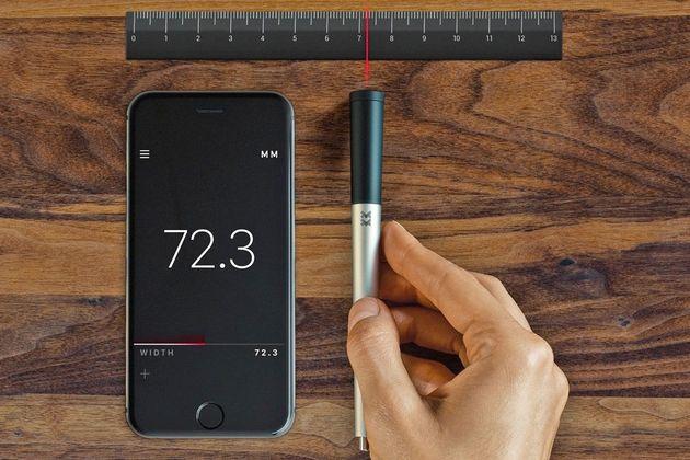 レーザーで距離を測る「スマートペン」が登場(動画・画像)
