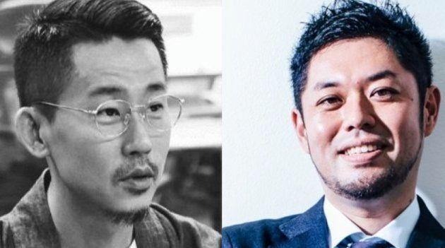 キム・ドフン韓国版編集長(左)と筆者