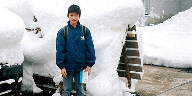 2004年、10歳のころの大谷。どんどん身長が伸びていた(大谷加代子さん提供)