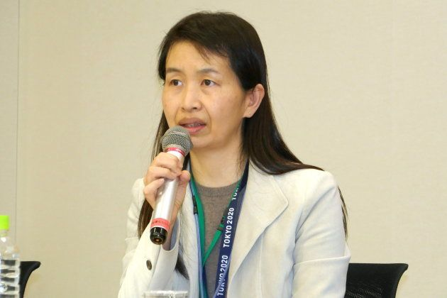 公益財団法人東京オリンピック・パラリンピック競技大会組織委員会大会準備運営第一局持続可能性部部長の荒田有紀さん