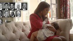 なぜ母親は授乳姿を「選挙キャンペーン動画」で披露したのか 注目集まる
