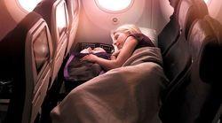 飛行機で子どもと横になれる、親子向け新サービス導入へ ニュージーランド航空