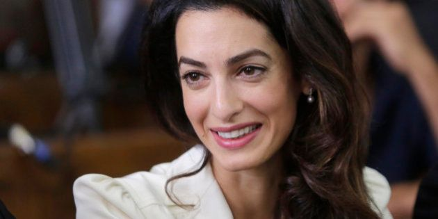 Amal Clooney, a member of the legal team representing Canadian Al-Jazeera English journalist Mohammed...