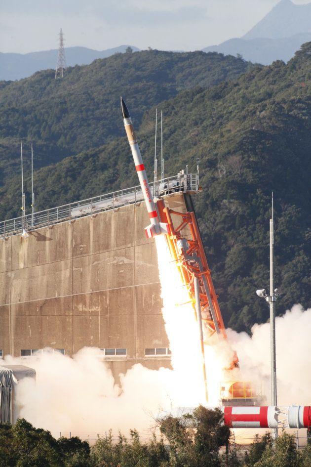 1月15日に鹿児島県肝付町から打ち上げられた「SS-520