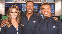 アメフトNFLに、女性と一緒にダンスする「男性チアリーダー」が誕生。ロサンゼルス・ラムズが2人採用