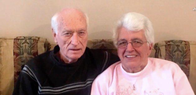 ハロルド・ホーランドさんとリリアン・バーンズさん