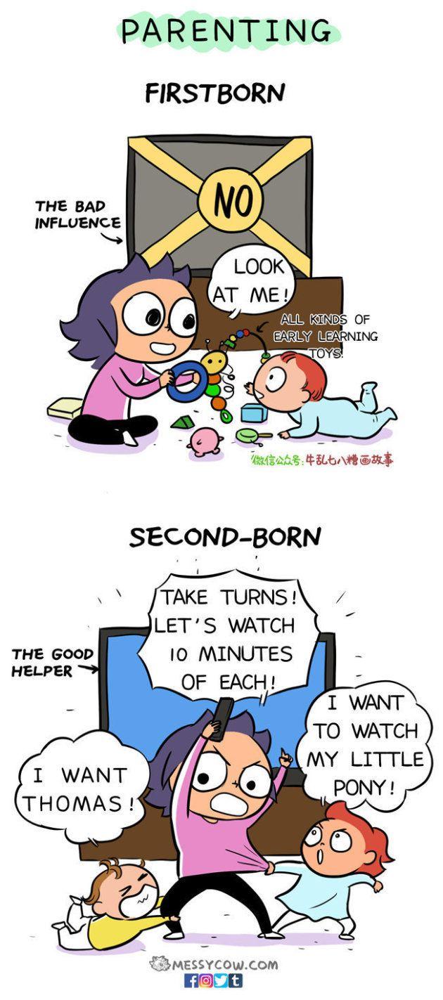 ひとり目とふたり目、子育ての仕方は全然違う?