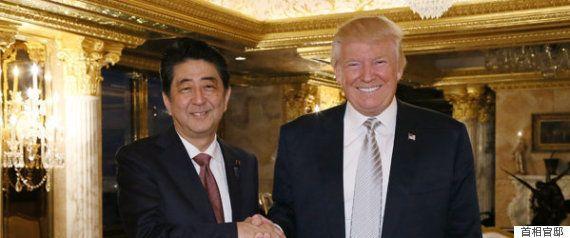 安倍首相、エアフォースワン同乗へ トランプ大統領が異例の厚遇、ゴルフも