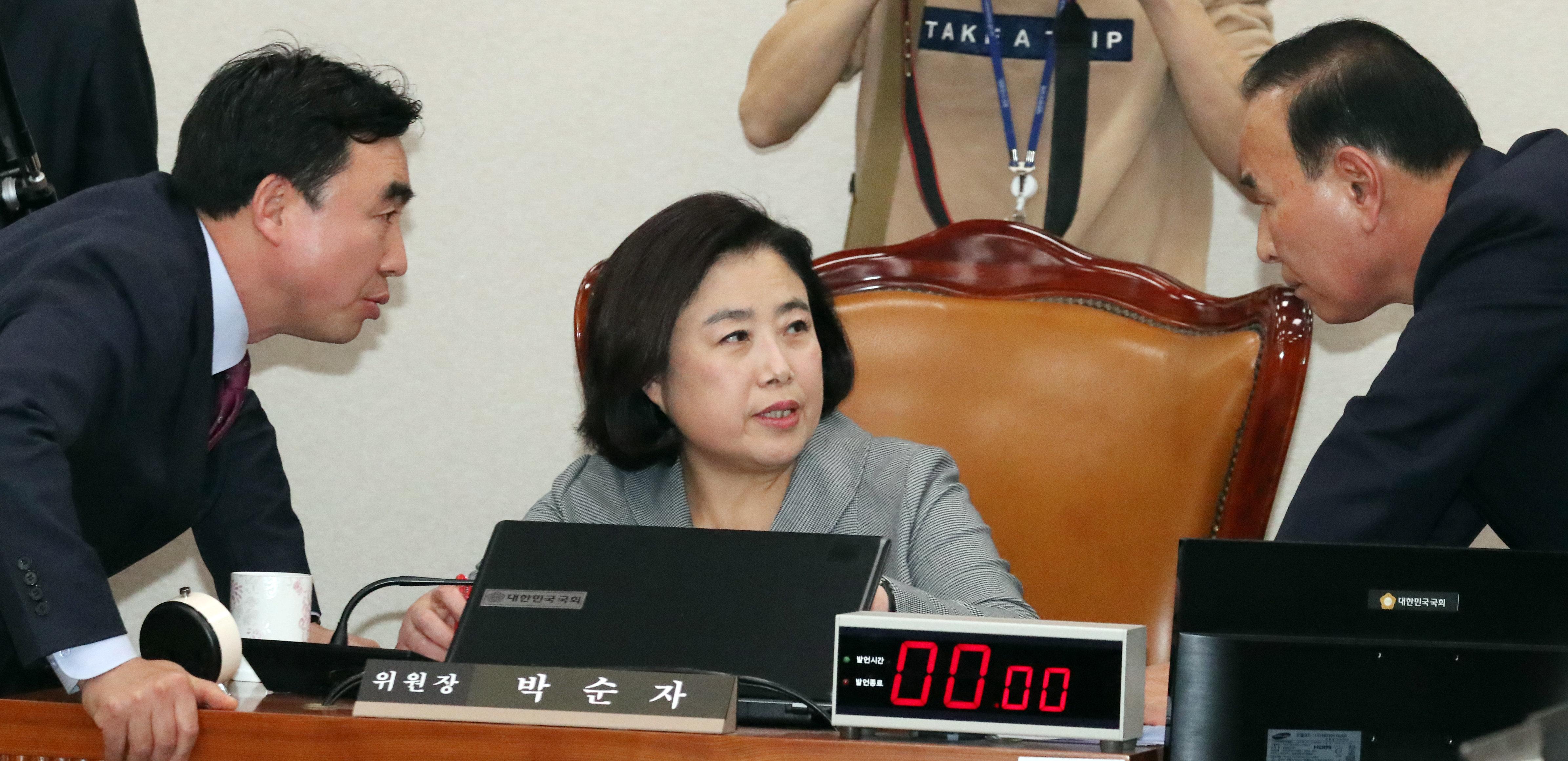 한국당 박순자 의원의 아들이 '특혜'를 받았다는 논란이