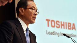 東芝決算発表再延期、記者会見での室町社長の「責任」発言に唖然