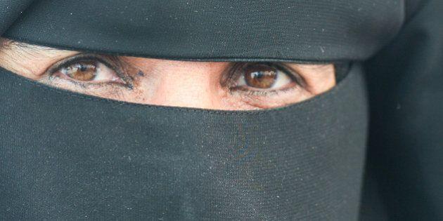 A local lady wearing a niqab, seen in Ras Al Khaimah.On Wednesday, 1st February, 2017, in Ras Al Khaimah,...