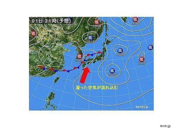 九州から東海は激しい雷雨の恐れ