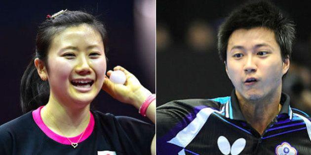 福原愛、江宏傑との交際を報告 台湾の卓球選手