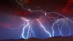 雷雨の中で放射性同位体が生成される