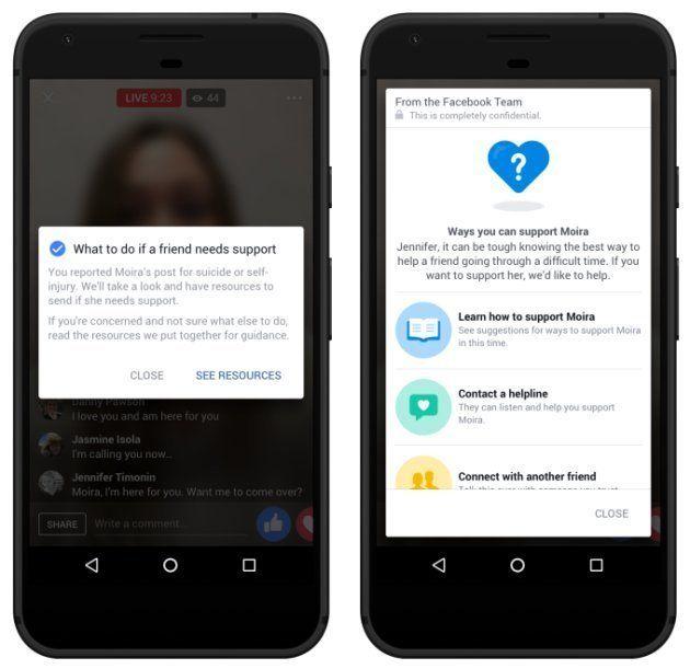 FacebookにAIを活用した自殺防止や通報機能を搭載 本格的対策へ