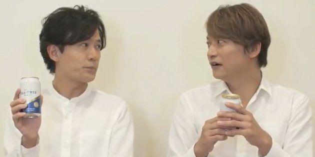 稲垣吾郎さん、香取慎吾さん、新オールフリーのメッセンジャー就任コメント