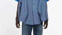 Tシャツにシャツを付けただけで、16万円。バレンシアガの新作がツッコミどころ満載