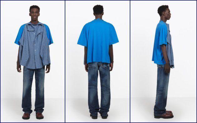 Tシャツ付きシャツって何?しかも16万円。バレンシアガの新作がツッコミどころ満載