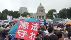 【安保法案】反対デモ、国会前を埋め尽くす 全国で大規模な抗議行動