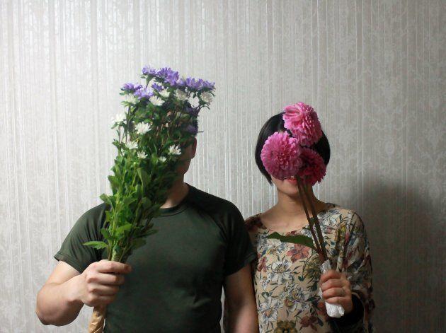 契約結婚をした江添さんと長谷川さん