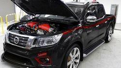 日産「GT-R」のエンジンを搭載した、800馬力のピックアップトラック「ナバラR」