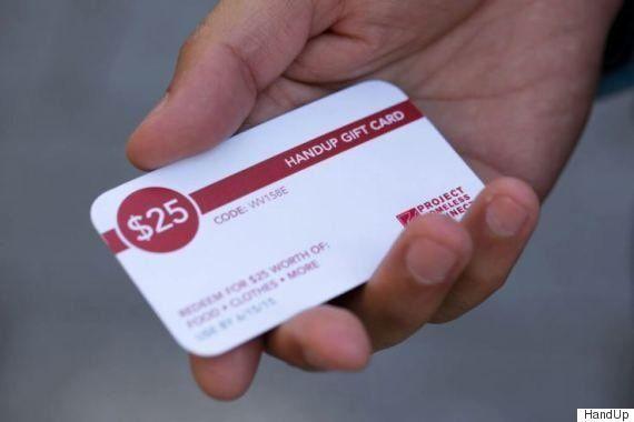 ホームレスに手渡せるギフトカードができた Googleの賛助で誰もが1枚試せる