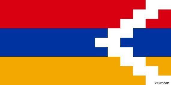 ナゴルノ・カラバフ共和国の国旗