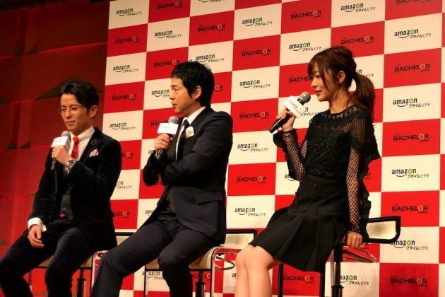左から藤森慎吾、今田耕司、指原莉乃。
