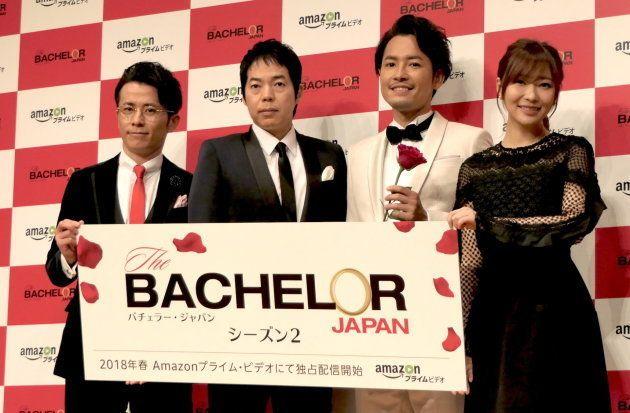 イベントには、新バチェラーの小柳津林太郎さん(右から2番目)も登場した。