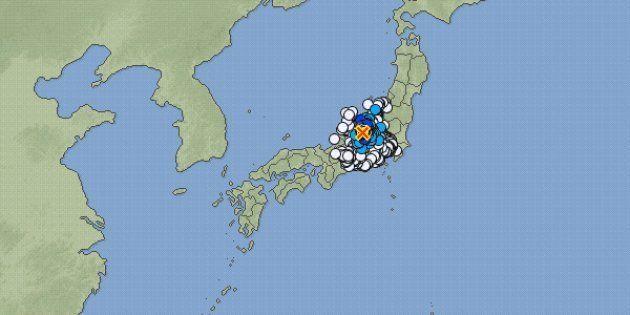 【地震情報】長野県大町市で震度4 長野市・安曇野市などで震度3(2017年12月6日)