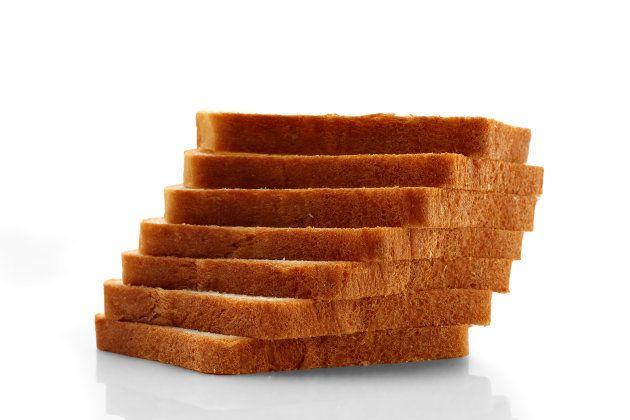 Bread, Loaf of Bread, Slice, Sliced Bread,