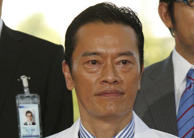 テレビCM会社数の男性1位となった遠藤憲一
