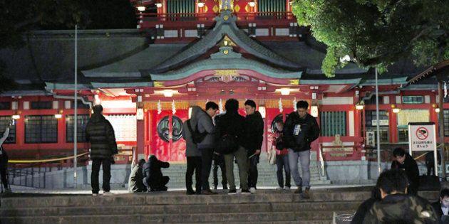 富岡八幡宮事件、横たわる男性…「50cmの傷見えた」