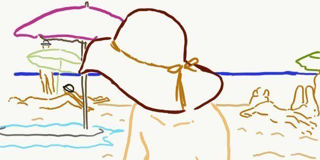 服好きファッションエディターが、ヌーディストビーチに行って裸になってみた