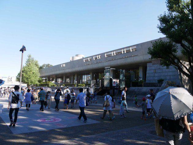 酷暑だった8月半ばも、上野は多くの人で賑わっていた