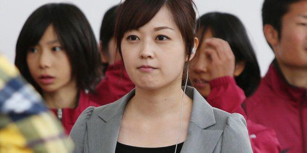 水卜麻美アナ(2013年撮影)