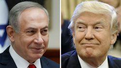 イスラエル首相がトランプ氏絶賛 壁建設を「素晴らしいアイデアだ」