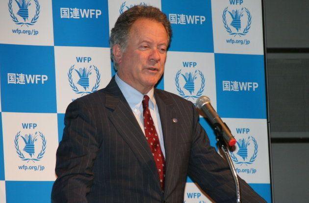 国連WFPのデイビッド・ビーズリー事務局長