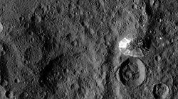 準惑星ケレスに「謎の円錐地形」