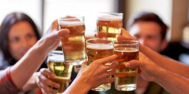 Going sober: Almost a third of under-25s are not drinking alcohol, researchers