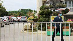 沖縄・普天間基地隣接の小学校に、米軍ヘリから窓ガラス?落下 子どもが軽傷