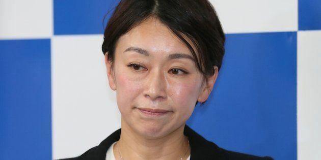 山尾志桜里氏(2017年10月23日)