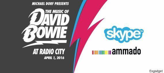 デヴィッド・ボウイ追悼コンサート、Skypeがライブ中継。20ドルのチャリティで全世界から視聴可能